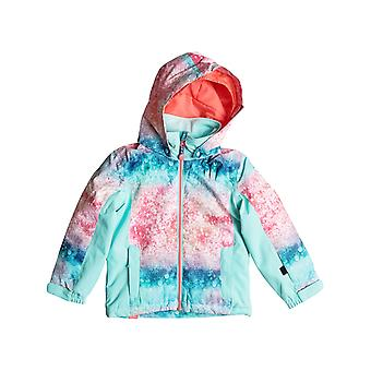 Roxy Neon Grapefruit-Solargradient Mini Jetty Toddlers Snowboarding Jacket