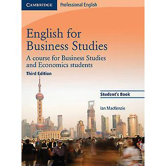 English for Business Studies Student's Book - A Course for Business St