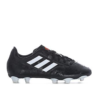 Children Boys adidas Conquisto Ii Fg Football Boots In Black- Built For