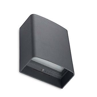Clous Urban Grey LED Outdoor Single Wall Light - Leds-C4 05-9926-Z5-CL