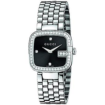 Gucci Ladies Quartz analogue watch with stainless steel band YA125412