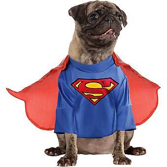 Собака костюм Супермена