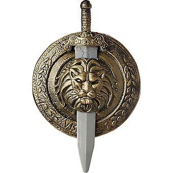 Щит меч гладиатора 18 дюймов