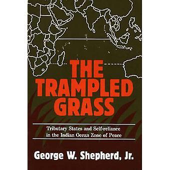 De vertrapt gras zijrivier Staten en SelfReliance in de Indische Oceaan Zone van vrede door herder & George W.