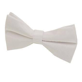 Dobell Boys Ivory Bow Tie Dupion Satin-Feel Pre-Tied