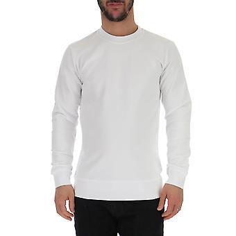 Comme Des Garçons White Cotton Sweater