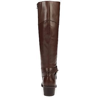 Alfani Berniee en cuir ronde Toe Knee High Fashion bottes
