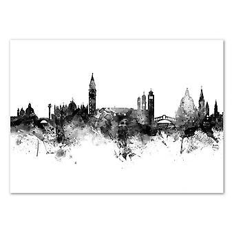 Arte-Cartel - Venecia Italia Skyline - Michael Tompsett 50 x 70 cm