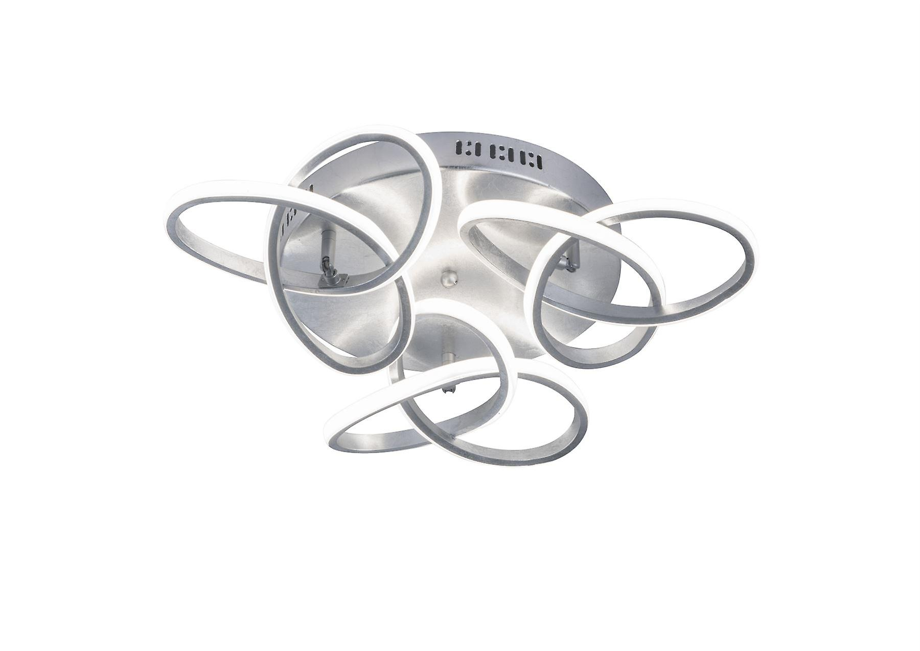 Wofi Eliot - LED Semi Flush Plafond Light argent - 9410.03.70.8000
