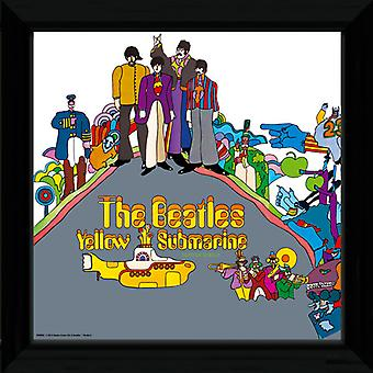 The Beatles Yellow Submarine 2 Framed Album Cover Print 12x12in