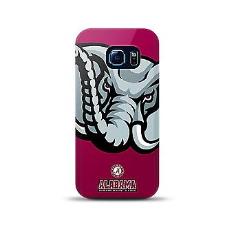 Mizco Sports NCAA Oversized Snapback TPU Case for Samsung Galaxy S6 Edge (Alabam