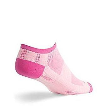 Socks - SockGuy - Channel Air No Show CH NS Pink S/M Cycling/Running
