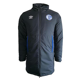 2019-2020 Schalke Umbro Padded Jacket (Black)