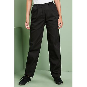 Simon Jersey One Pleat Trousers