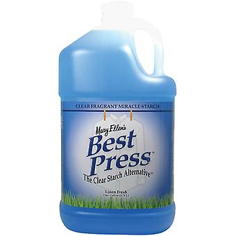 Mary Ellen's Best Press Refills 1 Gallon Linen Fresh 600G 65