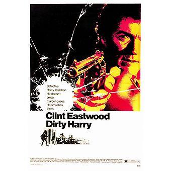Dirty Harry Movie Poster drucken (27 x 40)