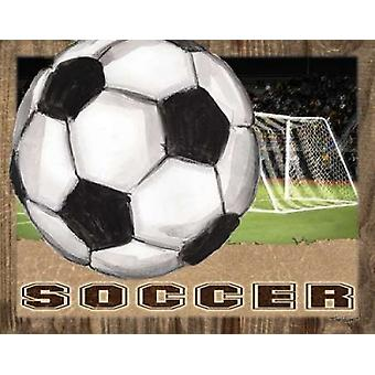 Soccer Poster Print by Todd Williams