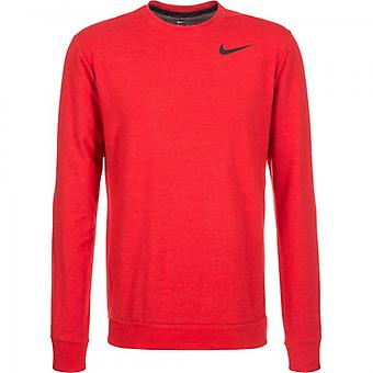 Rouge NIKE performance équipage manches longues homme 742208-657