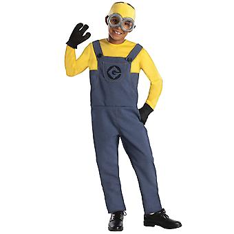 Minion Dave Despicable Me Minion Made Licensed Movie Boys Costume With Goggles