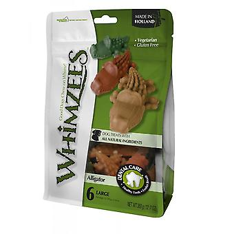 Whimzees Alligator Large 6pk (Pack of 6)