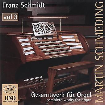 Schmidt / Schmeding - Gesamtwerk piel Orgel 3 [SACD] USA import