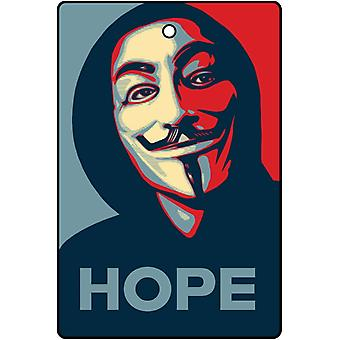 Anonymous Hope Car Air Freshener