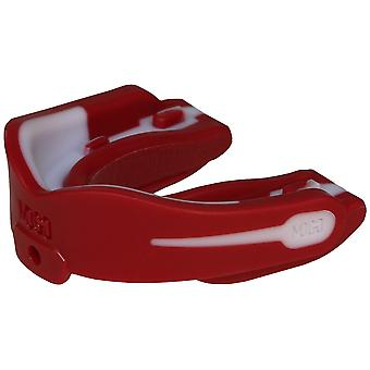 MoGo M Zero Performance Sports Mouthguard - Adult - Red/White
