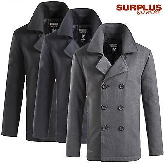 Surplus pea coat jacket