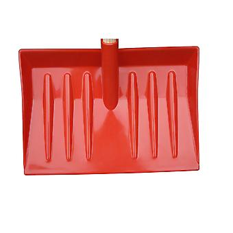 Eton Robust Snow Scoop Red With 1200mm Wooden Pole