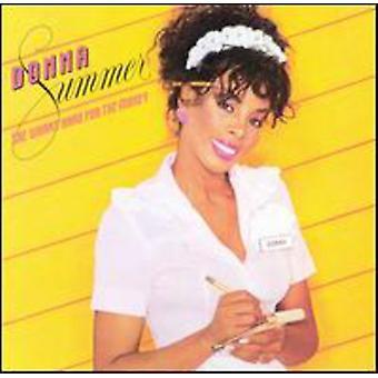 Donna Summer - hun arbejder hårdt for penge [CD] USA importen