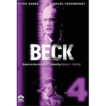 Beck - Beck: Sæt 4-episoder 10-12 [DVD] USA import
