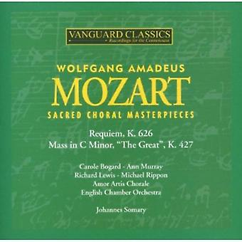W.a. Mozart - Mozart: Sacred Choral Masterpieces [CD] USA import