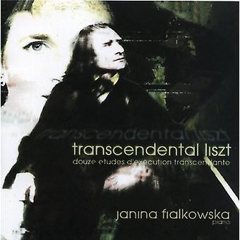 Janina Fialkowska - Transcendental Liszt [CD] USA import