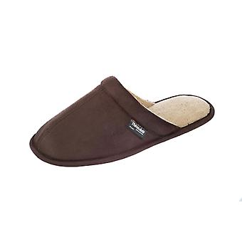 Mens Coolers Thinsulate Lined MicroSuede Mule With Thinsulate Lining Slipper A09
