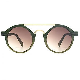Italia Independent I-Plastik 0920 Sunglasses In Green