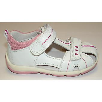 Superfit Freddy 139-51 Girls Closed Toe Sandal White