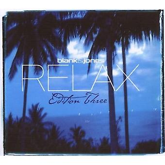 Blank & Jones - Relax Edition 3 (Three) [CD] USA import