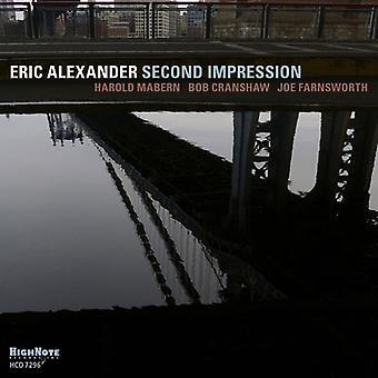 Eric Alexander - andet indtryk [CD] USA import