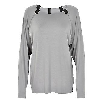 Henriette Steffensen Jersey shirt sporty long sleeve shirt