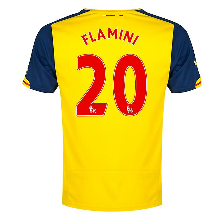 2014-15 Arsenal Away Shirt (Flamini 20)