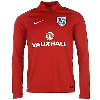 2016-2017 England Nike Training Drill Top (Red)
