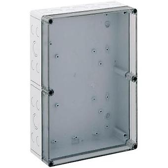 Build-in casing 254 x 361 x 111 Polycarbonate (PC) Light grey S