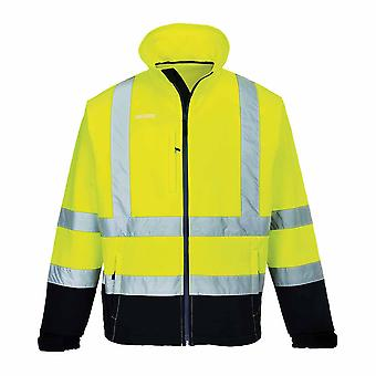 Portwest - Hi-Vis Safety Workwear Contrast Softshell (3L)