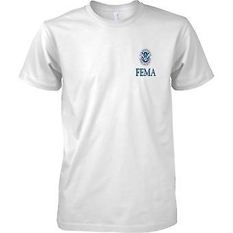 FEMA ojczyzny zabezpieczeń insygnia - dzieci piersi Design T-Shirt
