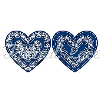 Tattered Lace Deluxe Lace Heart Die