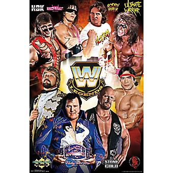 WWE Legends - Group 16 Poster Poster Print
