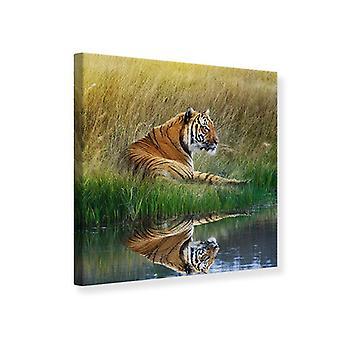 Impresión de lona el tigre