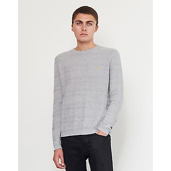 Farah Blagrove Textured Jumper Grey