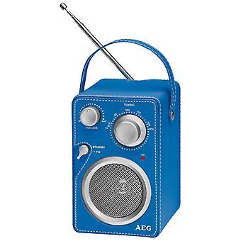 AEG Radio ontwerp heer 4144 blauw