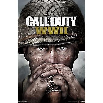 Call of Duty II wojny światowej - najważniejsze sztuki Poster Print